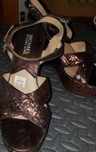Michael Kors Wedge heels Copper